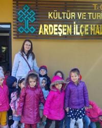 Atatürk Anaokulu Kütüphane Ziyareti