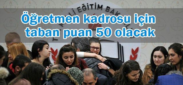 19 bin 910 sözleşmeli öğretmen kadrosu için başvurular başladı.