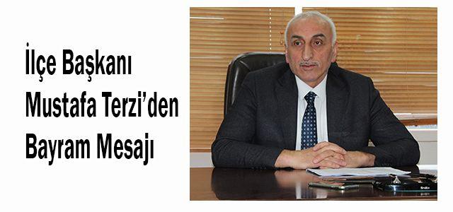 AK Parti Ardeşen İlçe Başkanı Mustafa Terzi'den Kurban Bayramı Mesajı