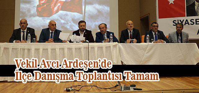 AK Parti Ardeşen ilçe Danışma Toplantısı Yapıldı