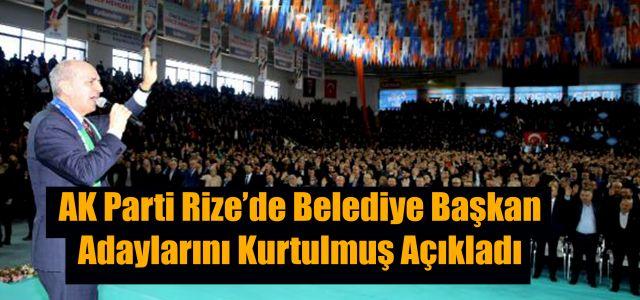 AK Parti Genel Başkan Vekili Numan Kurtulmuş Adayları Açıkladı