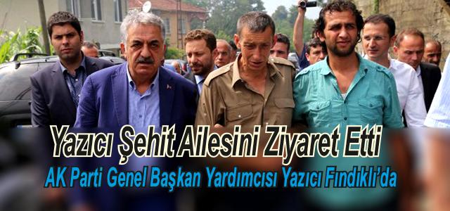 AK Parti Genel Başkan Yardımcısı Fındıklıda