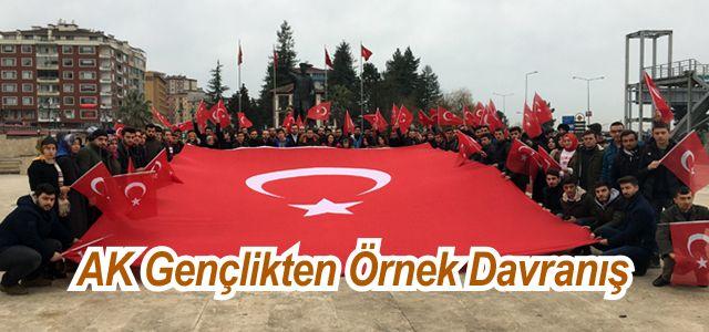 AK Parti Rize Gençlik Kolları Gönüllü Askerlik İçin İmza Topladı