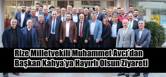 AK Parti Teşkilatlardan Sorumlu Başkan Yardımcısı ve Rize Milletvekili Muhammed Avcı Ardeşen'e geldi.
