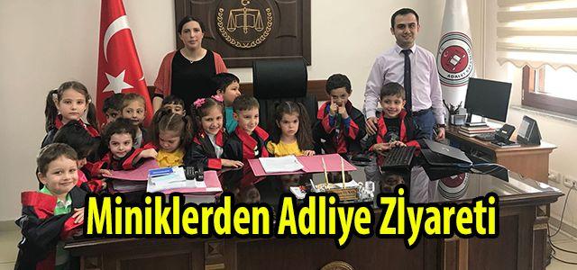 Ana Okulu Öğrencilerinden Adliye Ziyareti