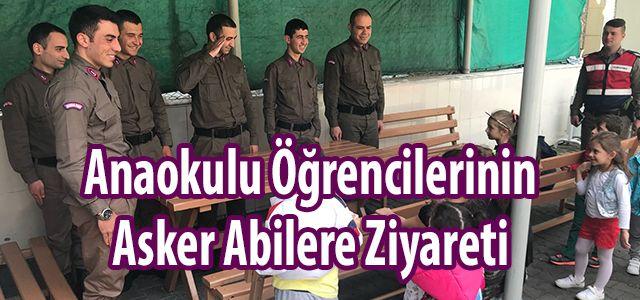 Ana Sınıfı Öğrencilerinden İlçe Jandarma Komutanlığına Ziyaret