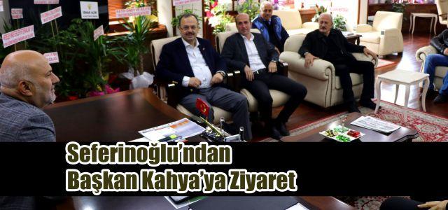 Anayasa Mahkemesi Üyesi Yıldız Seferinoğlu'ndan Başkan Kahya'ya Hayırlı Olsun Ziyareti