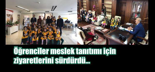 Ardeşen Atatürk Ana Okulu Öğrencilerinden Başkan Gültekine Sürpriz Ziyaret