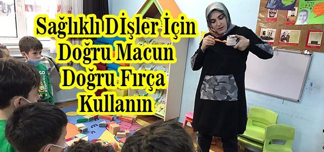 Ardeşen Atatürk Ana Okulundan Ağız ve Diş Sağlığı İçin Önemli Bir Etkinlik
