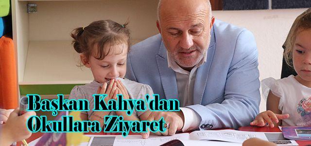 Ardeşen Belediye Başkanı Avni Kahya'dan Okullara Ziyaret