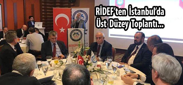 Ardeşen Belediye Başkanı Hakan Gültekin İstanbul'daki RİDEF Toplantısında Konuştu
