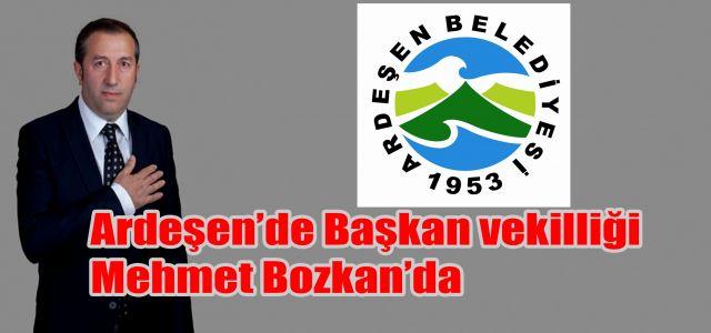 Ardeşen Belediye Başkanlığına Vekaleti Mehmet Bozkan Yapacak