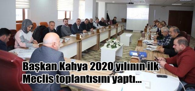 Ardeşen Belediyesi 2020 Yılının İlk Meclis Toplantısını Tamamladı