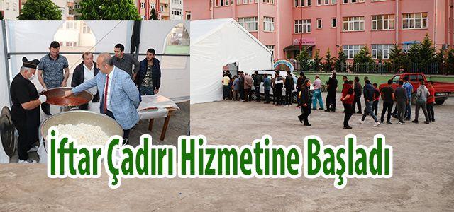 Ardeşen Belediyesi Bu Yıl'da İftar Çadırı Kurdu