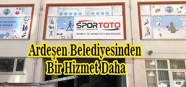Ardeşen Belediyesi Kadın Spor Merkezi Hizmete Açıldı