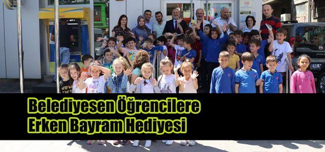Ardeşen Belediyesinden Çocuklara Bayram Sürprizi
