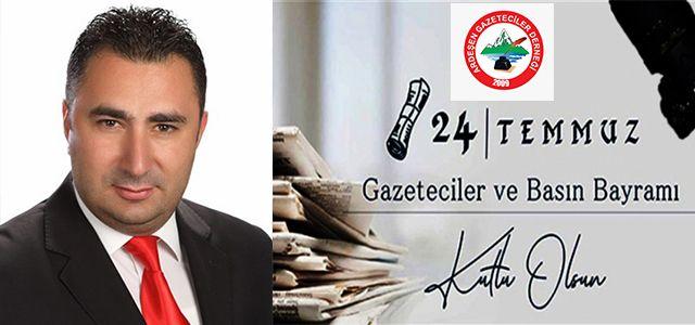 Ardeşen Gazeteciler Dernek Başkanı Navdar Bir Mesaj Yayımladı