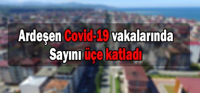 Ardeşen Geneli COVİD-19 Vaka Sayıları Açıklandı