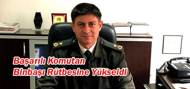 Ardeşen İlçe Jandarma Komutanına Yeni Rütbe