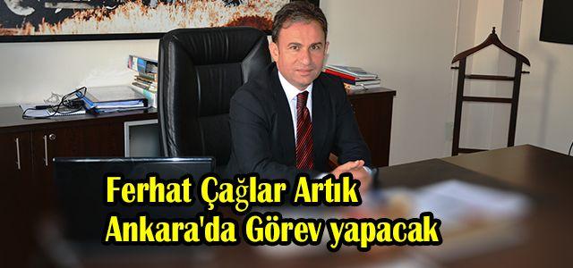 Ardeşen İlçe Tarım Müdürü Çağlar Ankara'ya Tayin Oldu
