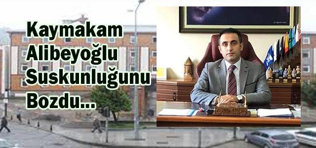 Ardeşen Kaymakamı Alibeyoğlu'ndan Öğretmene Ceza Konusuna Açıklama Geldi