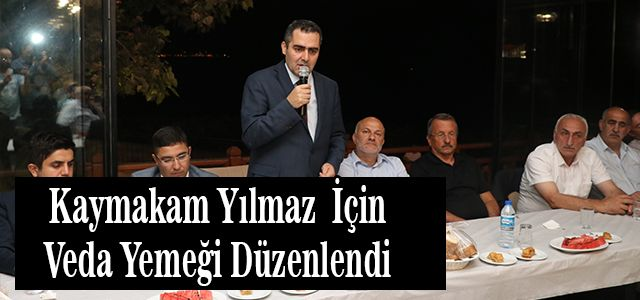 Ardeşen Kaymakamı Emrah Yılmaz Ankara'ya Atandı