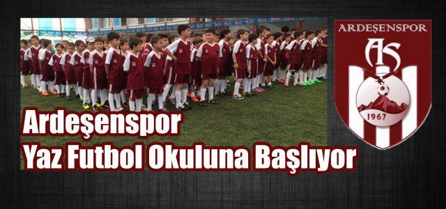 Ardeşen Spor Yaz Futbol Okulu Başlıyor