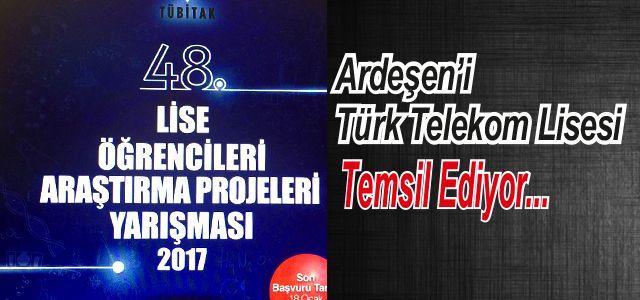Ardeşen Türk Telekom Lisesi Öğrencileri Erzurum'da