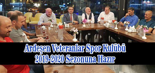 Ardeşen Veteranlar Spor Kulüp 2019 - 2020 -TMBFF Liginin sezon açılışı için bir araya geldi.