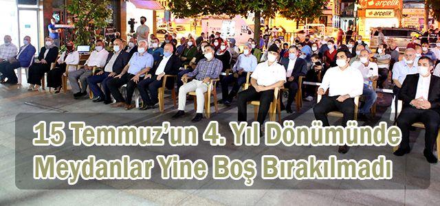 Ardeşen'de 15 Temmuz Demokrasi ve Milli Birlik Günü Etkinliği Düzenlendi