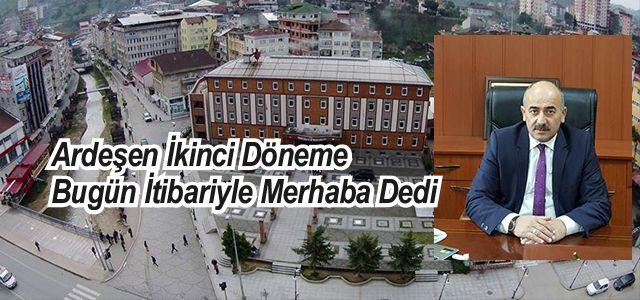 Ardeşen'de 7.853 Öğrenci Bugün Ders Başı Yaptı