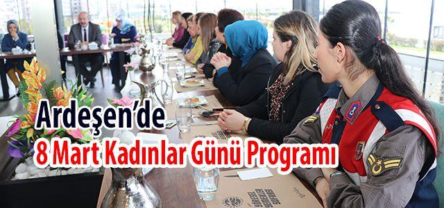 Ardeşen'de 8 Mart Kadınlar Günü İçin Etkinlik Düzenlendi