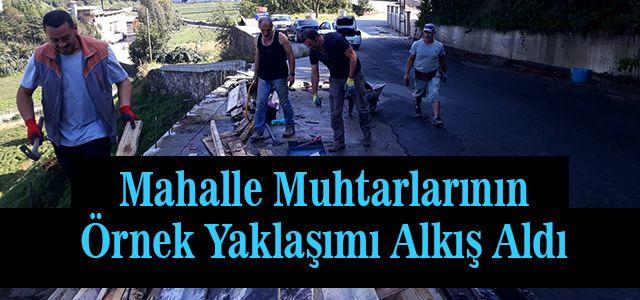 Ardeşen'de Belediye ve Muhtarların Dayanışması Alkış Alıyor