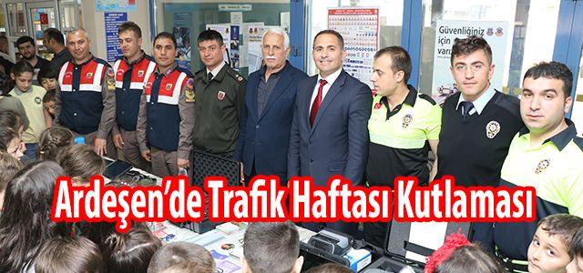 Ardeşen'de Trafik Haftası Kutlandı