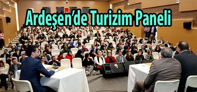 Ardeşen'de Turizm Eğitimi ve Sektör Tecrübesinin Kariyer Üzerinde Etkisi Konulu Panel Düzenlendi