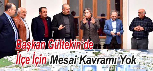 Başkan Gültekin Yeni Projeler İçin İstanbul'da