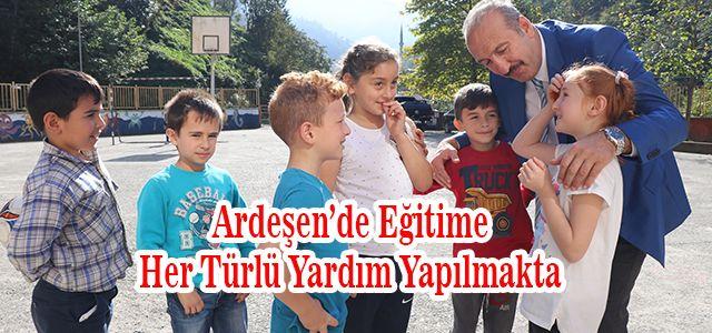 Başkan Gültekin'in Okul Ziyaretleri Sürüyor