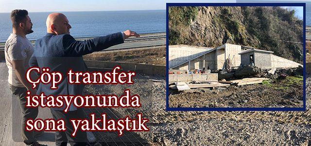 Başkan Kahya Çöp Transfer İstasyonunda İncelemelerde Bulundu