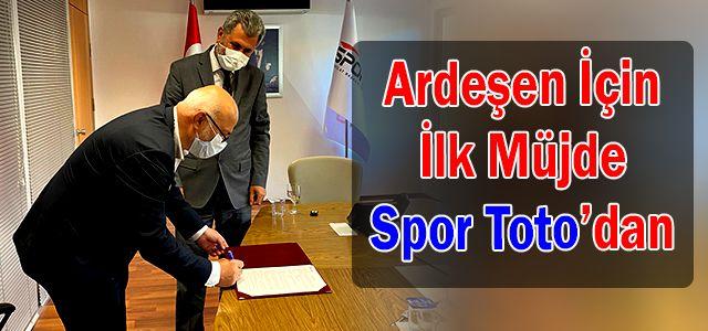 Başkan Kahya Düşündüğümüz Yatırımlar İçin Spor Toto'dan Kaynak Sağlayacağız Müjdesi Verdi.