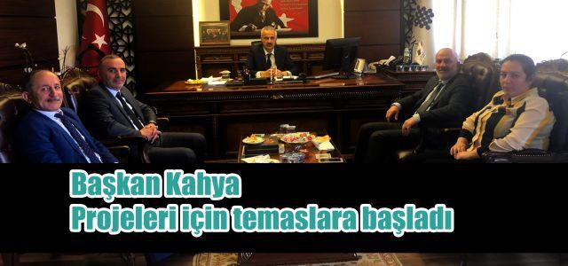 Başkan Kahya Projelerini Yatırıma Dönüştürme Adına Bismillah Dedi