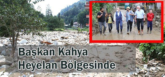 Başkan Kahya ve Ekibi Kaçkar Köyüne Çıkarma Yaptı