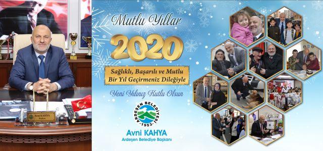 Başkanı Kahya'dan Yeni Yıl Mesajı