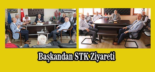 Başkanlar Ardeşen'in Lokomotifi İki Kurumu Ziyaret Etti