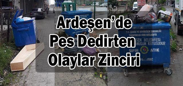 Bu İlçede Vatandaş Çöpleri Çöp Kutusunun İçine Değil Dışına Atmaya Alışmış!