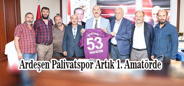 Bu Yıl 1. Amatöre Yükselen Palivatspor'dan Başkan Gültekin'e Ziyaret