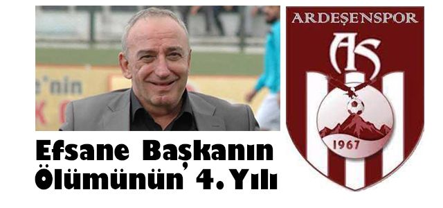 Bugün Ardeşensporun Efsane Başkanı Mehmet Çırakoğlu'nun aramızdan ayrılışının 4. Yılı.