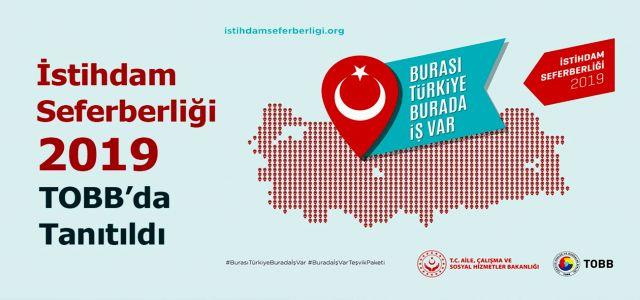 """""""Burası Türkiye Burada İş Var"""" Başlığıyla Tüm Türkiye'de Seferberlik Başlatıldı."""
