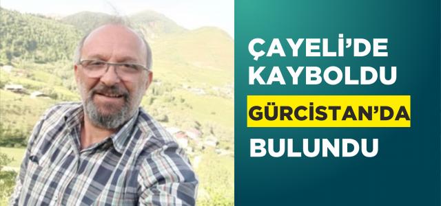 Çayeli'de denizde kaybolan kişinin cesedi Gürcistan'da bulundu