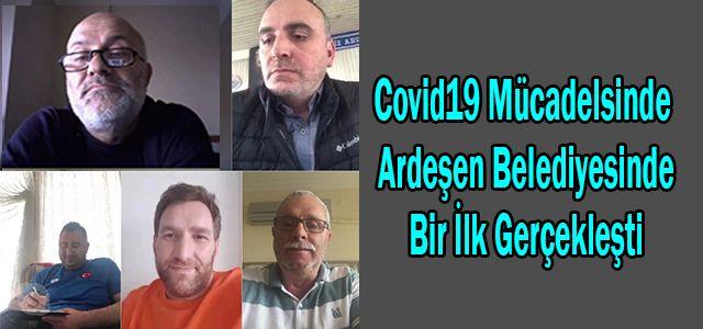 Covit-19'a Karşı Önlemlere Ardeşen Belediyesinden Bir Yenisi Daha Eklendi