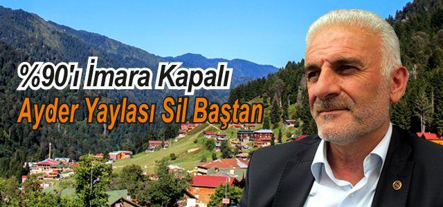 Cumhurbaşkanı Erdoğan Talimat Verdi Ayder Sil Baştan